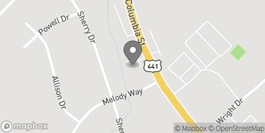 Mapa de 2510 N Columbia St en Milledgeville
