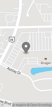 Mapa de 23967 West Road en Brownstown