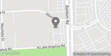 Mapa de 3963 Baldwin Rd en Auburn Hills