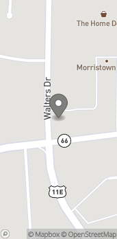 Map of 1966 W Andrew Johnson Hwy in Morristown