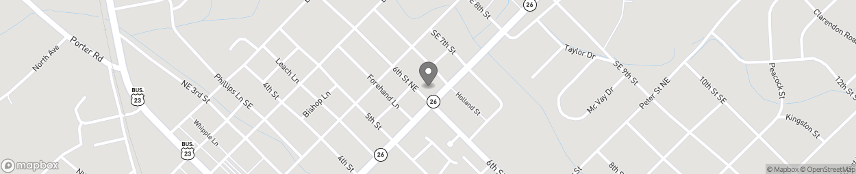 Map of 175 E Dykes Street in Cochran