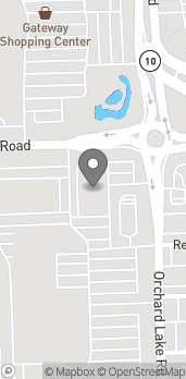 Map of 31361 Orchard Lake Rd in Farmington Hills