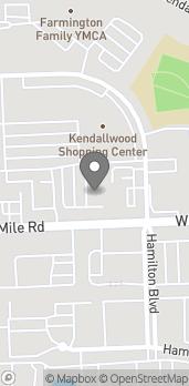 Mapa de 33218 W 12 Mile Rd en Farmington Hills