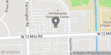 Map of 33218 W 12 Mile Rd in Farmington Hills