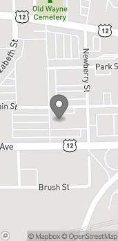 Map of 35354 E Michigan Avenue in Wayne