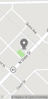 Mapa de 615 N State Street en Caro