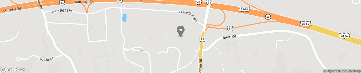 Map of 249 Franklin Plaza in Franklin