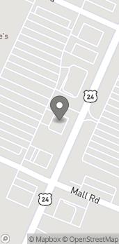 Mapa de 2169 N Telegraph Rd en Monroe
