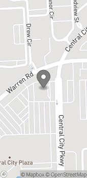 Mapa de 36555 West Warren Road en Westland