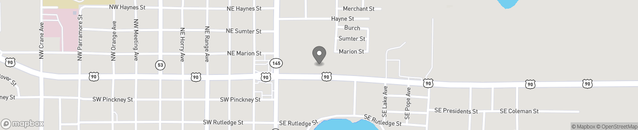 Map of 497 E Base Street in Madison