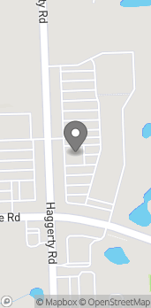 Map of 7460 Haggerty Rd in West Bloomfield