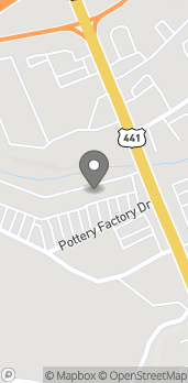 Map of 137 Pottery Factory Drive in Commerce