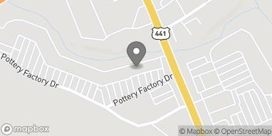 Mapa de 137 Pottery Factory Drive en Commerce