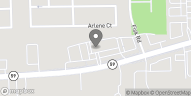 Map of 9278 Highland Rd in White Lake
