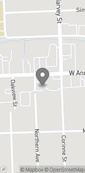Mapa de 1043 Ann Arbor Road en Plymouth