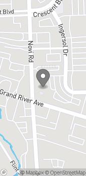 Mapa de 26050 Novi Rd en Novi