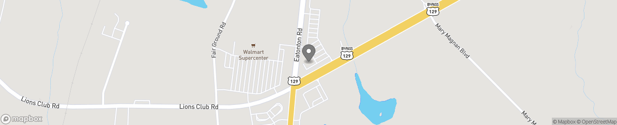 Map of 1710 Eatonton Rd in Madison