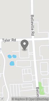 Map of 9556 Belleville Road in Belleville