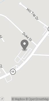 Map of 920 Lee Street in Jefferson