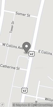 Map of 529 N High St in Hillsboro