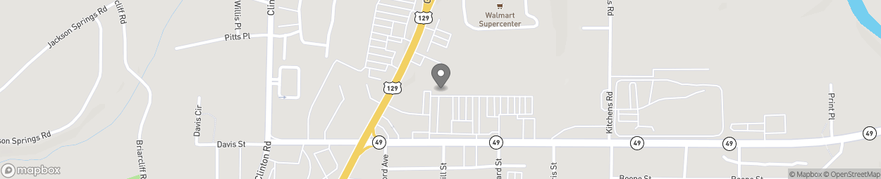 Map of 636 Shurling Drive in Macon