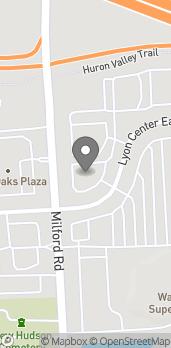 Map of 30806 Lyon Center East in New Hudson