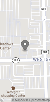Map of 3330 W. Central Ave in Toledo