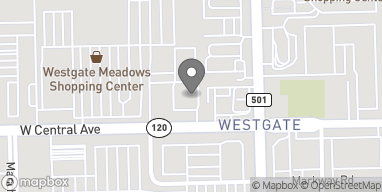 Mapa de 3330 W. Central Ave en Toledo