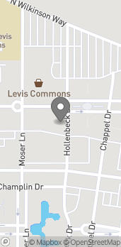 Map of 4110 Levis Commons Boulevard in Perrysburg