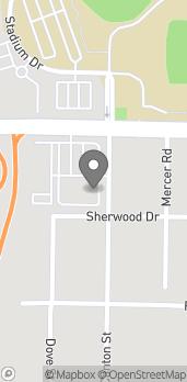 Map of 1530 Mercer University Dr in Macon