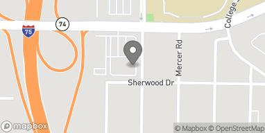 Mapa de 1530 Mercer University Dr en Macon