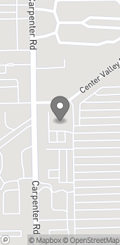 Map of 3787 Carpenter Rd in Ypsilanti