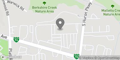 Mapa de 3217 Washtenaw Boulevard en Ann Arbor