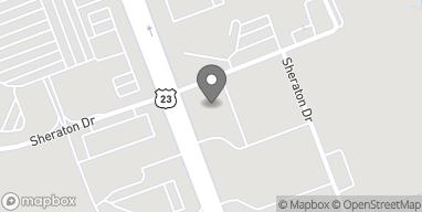 Map of 4795 Riverside Drive in Macon