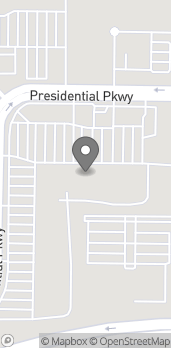 Map of 4634 Presidential Pkwy in Macon