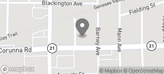 Map of 3410 Corunna Road in Flint