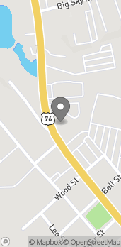 Map of 132 N Main St in Hiawassee