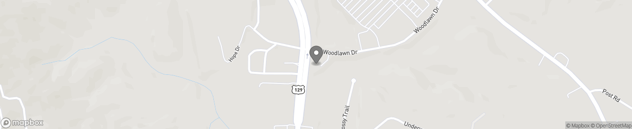 Map of 381 Donald E Thurmond Pkwy in Cleveland