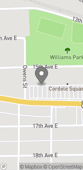 Map of 903 E 16th Ave in Cordele