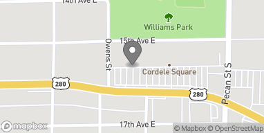Mapa de 903 E 16th Ave en Cordele