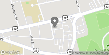 Map of 838 Rombach Ave in Wilmington
