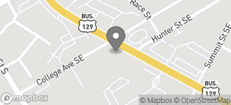 Map of 600 EE Butler Pkwy. in Gainesville