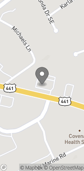 Map of 7614 Chapman Highway in Knoxville