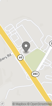 Map of 3630 Thompson Bridge Rd in Gainesville
