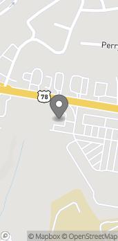 Map of 4729 Atlanta Hwy in Loganville