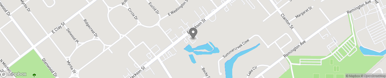 Map of 1208 East Jackson St in Thomasville