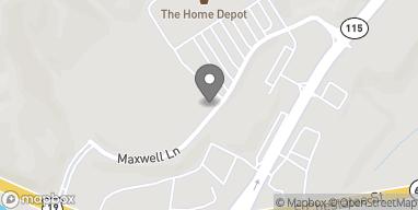 Mapa de 73 Maxwell Lane en Dahlonega