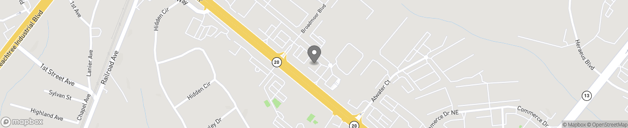 Map of 4675 Nelson Brogdon Blvd in Sugar Hill