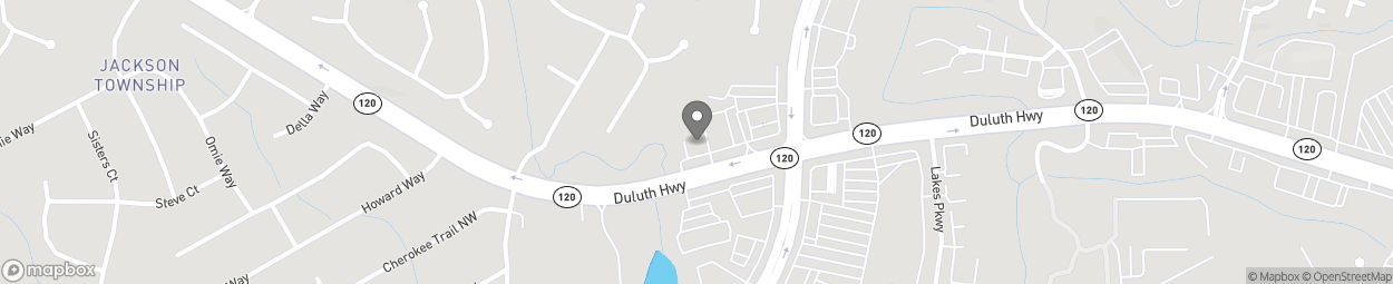 Map of 1093 Duluth Highway NW in Lawrenceville
