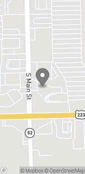 Map of 1421 South Main St in Adrian